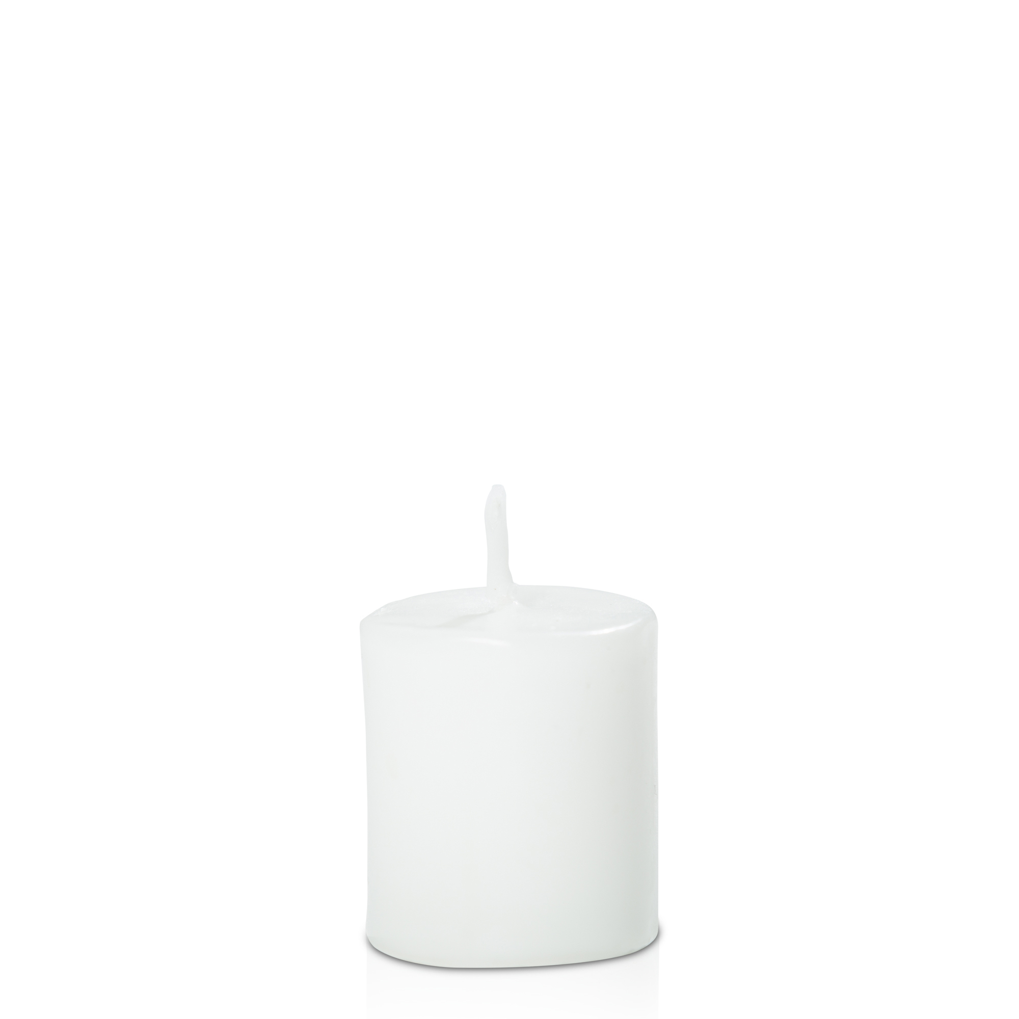 Votive Unscented- White