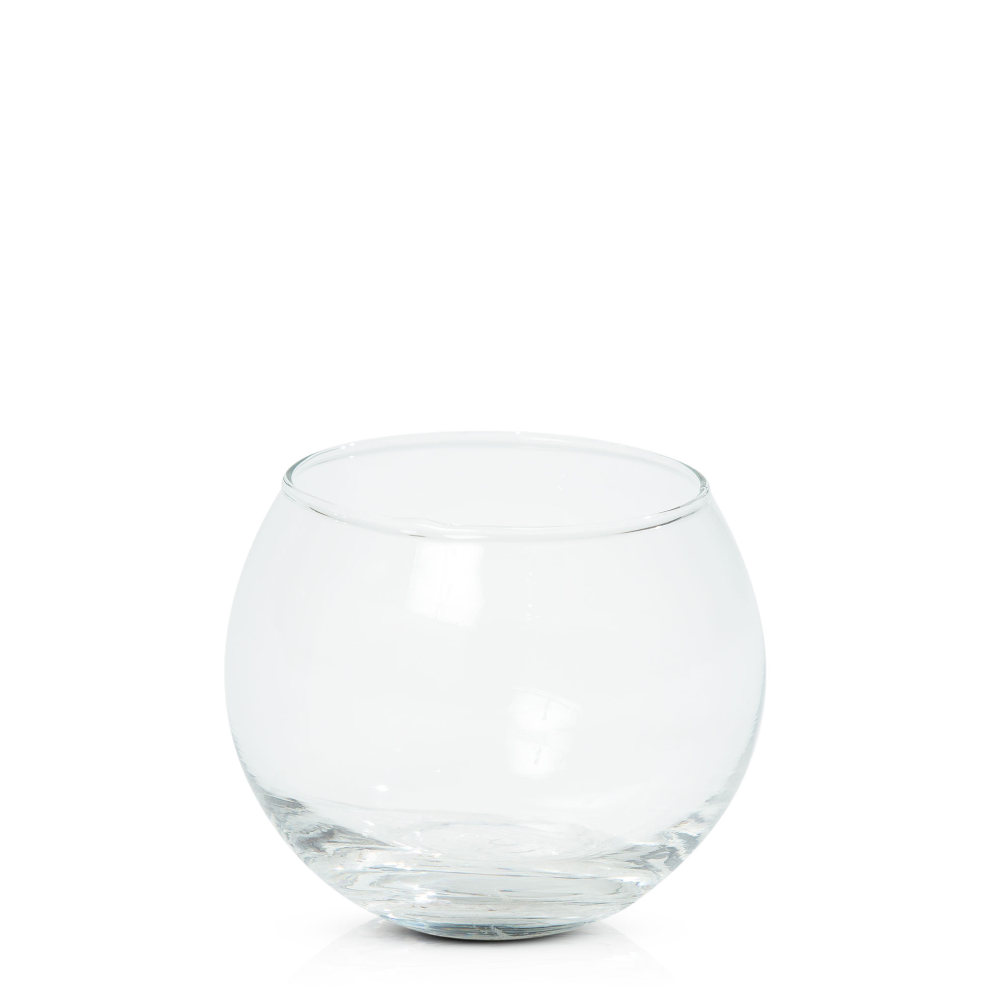 Fishbowl Tealight Holder- Clear