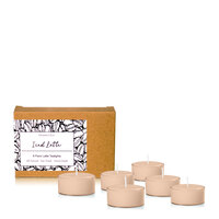 Moreton Eco Tealight Pack - Iced Latte