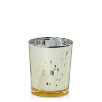Mercury Gold 5cm x 6.5cm Glass Votive