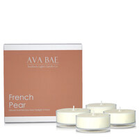 Ava Bae Soy Maxi Tealight Pack - French Pear