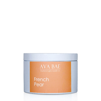 Ava Bae Soy Travel Tin 200g - French Pear